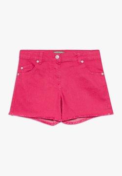 Benetton - Jeansshort - pink