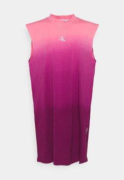 Calvin Klein Jeans - MUSCLE  - Jerseykleid - purple