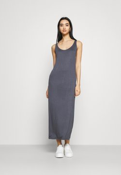 Pieces - PCKALLI TANK DRESS - Maxikleid - ombre blue