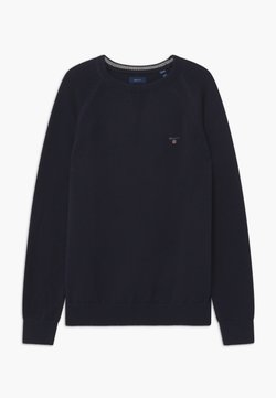 GANT - CASUAL CREW - Jersey de punto - evening blue
