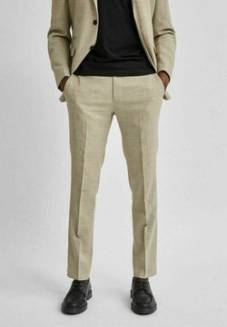 Selected Homme - LEICHT - Anzughose - sand