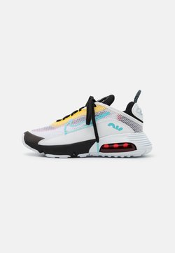 Nike Sportswear - AIR MAX 2090 - Sneakersy niskie - white/bleached aqua/black/speed yellow