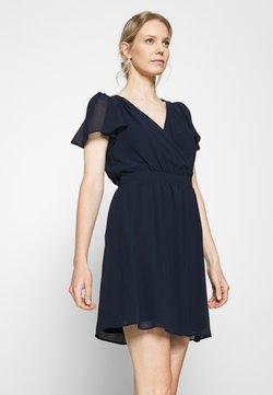 NAF NAF - SEZER  - Cocktailkleid/festliches Kleid - bleu marine