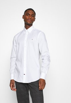 Tommy Hilfiger Tailored - OXFORD BUTTON DOWN SLIM SHIRT - Camicia elegante - white
