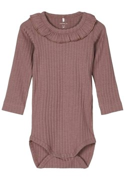 Name it - RÜSCHENKRAGEN - Body - twilight mauve