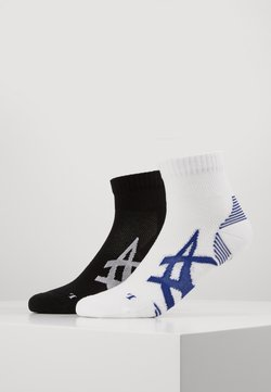 ASICS - CUSHIONING SOCK 2 PACK  - Sportsocken - performance black/brilliant white