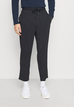Casual Friday - PIERRE STRIPE PANTS - Stoffhose - navy blazer