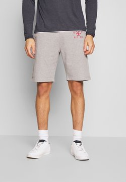 IZOD - DISTRESSED LOGO - Jogginghose - light grey heather