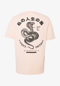 YOURTURN - T-shirt con stampa - pink