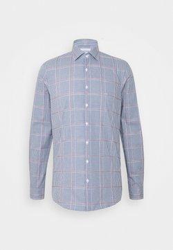 Michael Kors - CHECK EASY CARE SLIM  - Camicia elegante - navy