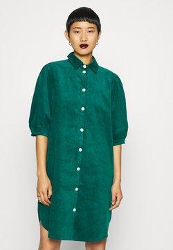 Résumé - APPLE DRESS - Skjortekjole - ocean green