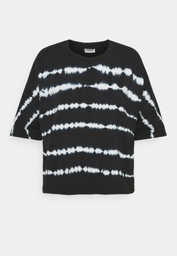 Noisy May Petite - NMBUSTER TIE DYE - T-Shirt print - black