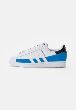 adidas Originals - SUPERSTAR - Sneakers - bright blue/white/core black