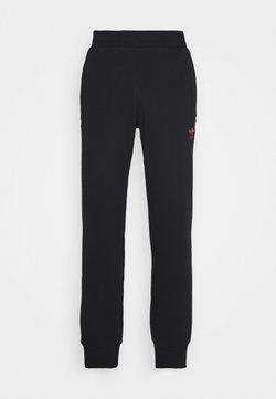 adidas Originals - TREFOIL PANT UNISEX - Jogginghose - black/scarle