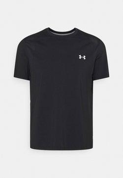 Under Armour - ISO-CHILL RUN 200 - Camiseta de deporte - black
