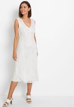 bonprix - IM AJOUR-DESIGN - Cocktailkleid/festliches Kleid - weiß
