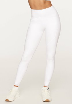 OYSHO - COMPRESSION - Tights - white