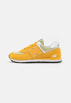 New Balance - ML574 - Baskets basses - yellow