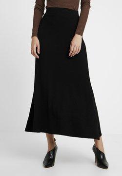 EDITED - AMILIA SKIRT - Jupe longue - black