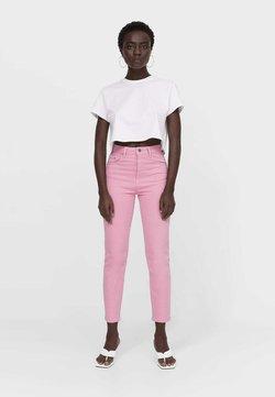 Stradivarius - Slim fit -farkut - pink