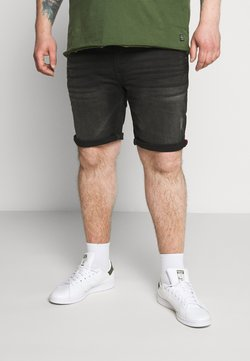 Blend - DENIM  - Jeansshort - black denim