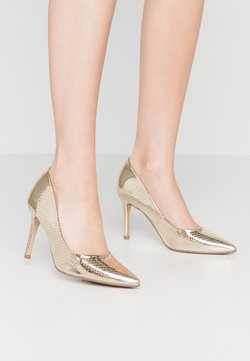 Dorothy Perkins - DELE POINT COURT - High heels - gold