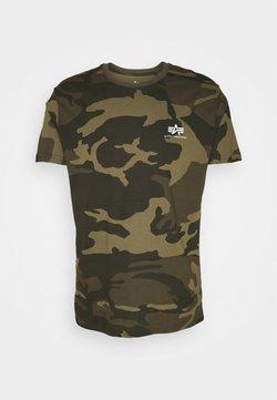 Alpha Industries - CAMO - Camiseta estampada - olive