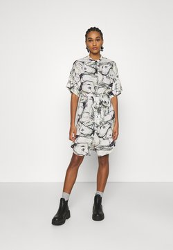 Monki - DRESS - Vestido camisero - multi-coloured