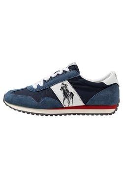 Polo Ralph Lauren - TRAIN - Sneakersy niskie - newport navy/white
