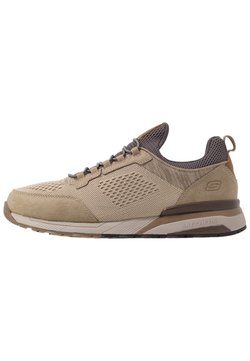 Skechers - NORGEN - Loaferit/pistokkaat - taupe