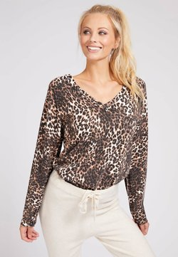 Guess - PRINT ALLOVER - Strickpullover - animalier