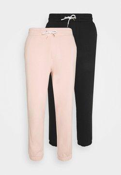 YOURTURN - UNISEX  JOGGERS - Jogginghose - black_pink