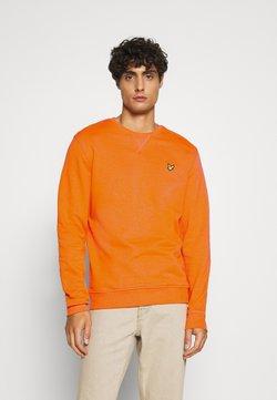 Lyle & Scott - CREW NECK - Sweater - risk orange