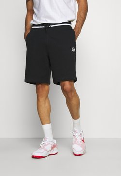 Sergio Tacchini - AVOCADO SHORT - Pantalón corto de deporte - black