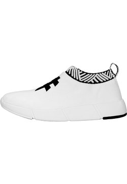 Rens Original - WATERPROOF COFFEE SNEAKERS - Zapatillas - rebel white