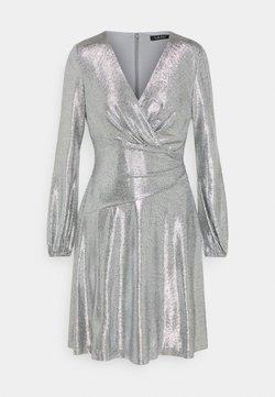 Lauren Ralph Lauren - DRESS - Robe de soirée - dark grey/silver