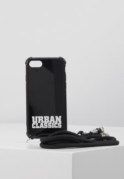 Urban Classics - PHONECASE WITH REMOVABLE NECKLACE - Etui na telefon - black