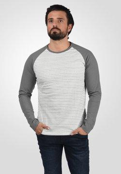 Solid - Langarmshirt - mid grey