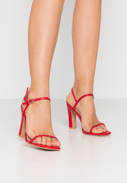 RAID Wide Fit - WIDE FIT SILVINA - High heeled sandals - red