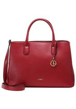 L. CREDI - FINETTA - Shopping Bag - rot