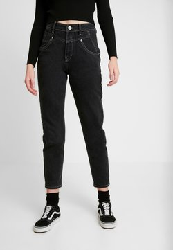 BDG Urban Outfitters - SEAMED MOM - Relaxed fit jeans - black