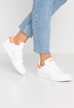 adidas Originals - STAN SMITH - Sneakers laag - footwear white/solar orange
