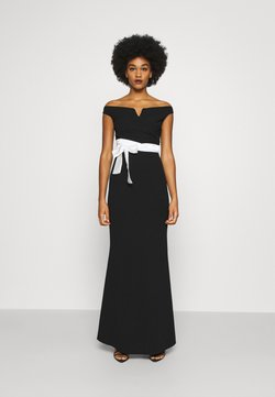 WAL G. - BARDOT BAND DRESS - Ballkleid - black