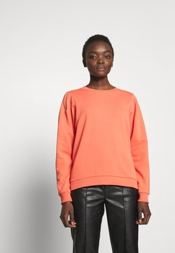 Bruuns Bazaar - PARLA MALLY  - Sweatshirt - poppy red