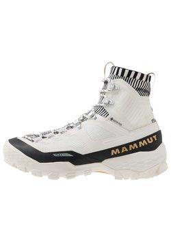 Mammut - DUCAN HIGH GTX WOMEN - Outdoorschoenen - bright white/black