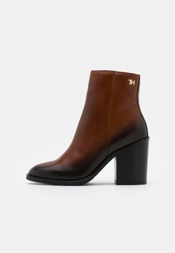 Tommy Hilfiger - SHADED BOOT - High Heel Stiefelette - pumpkin paradise