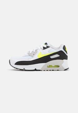 Nike Sportswear - AIR MAX 90 UNISEX - Sneakers laag - white/hot lime/black/neutral grey
