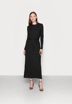 Vero Moda Tall - VMNAVA TIE ANKLE DRESS - Maxikleid - black