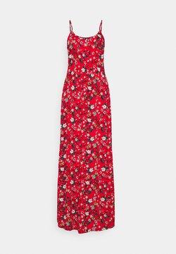 Vero Moda Tall - VMSIMPLY EASY SINGLET DRESS - Maxiklänning - goji berry/lotte