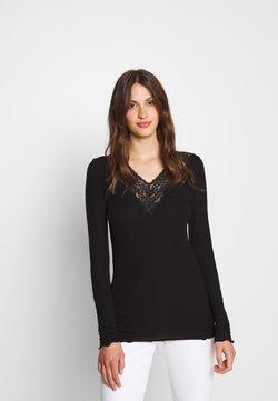 PIECES Tall - PCSIRI  - Langarmshirt - black